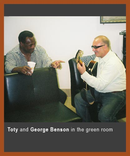 Backstage with George Benson